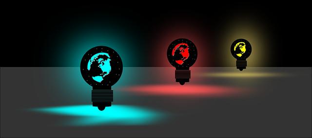barevná světýlka