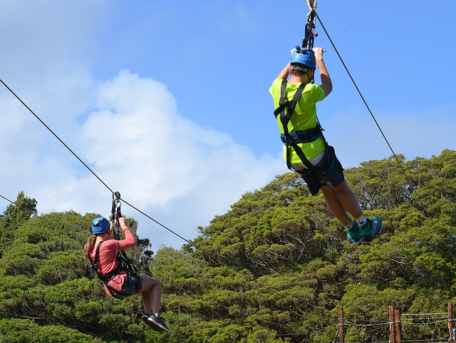 zipline na havaji