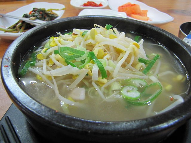 polévka s rýží