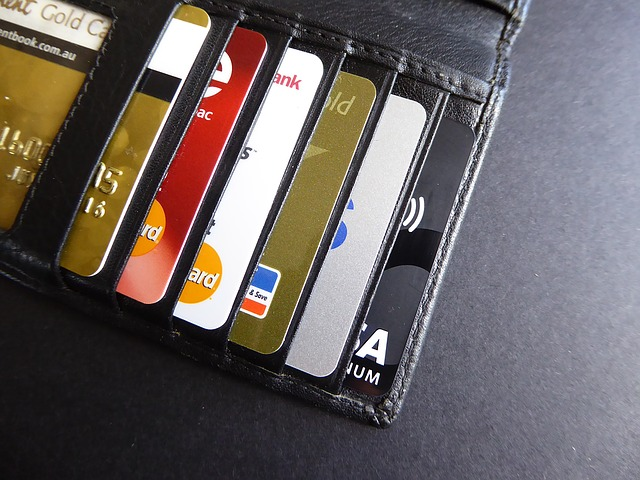 sbírka kreditních karet