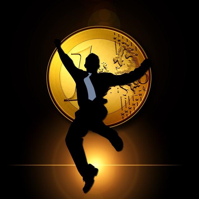 mince a skákající osoba